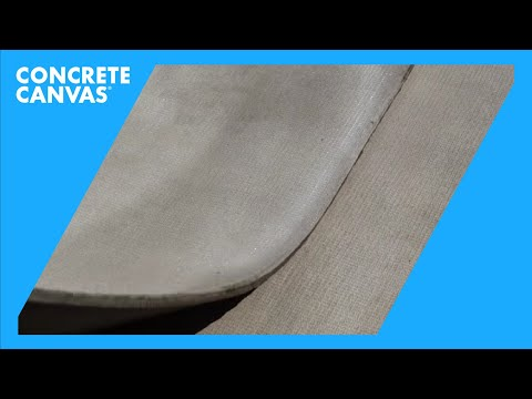 Concrete Canvas Overlap Joint Guidance