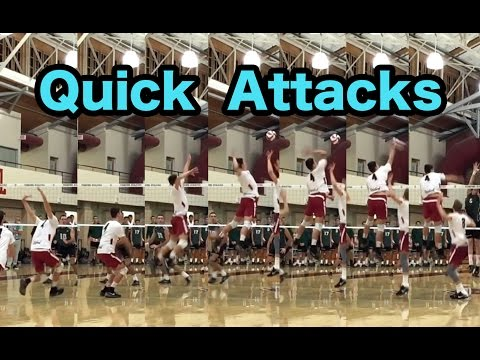 Spiking QUICK Attacks - How to SPIKE a Volleyball Tutorial