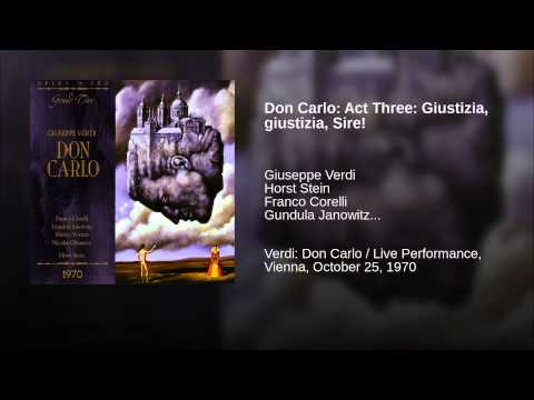 Don Carlo: Act Three: Giustizia, Giustizia, Sire!