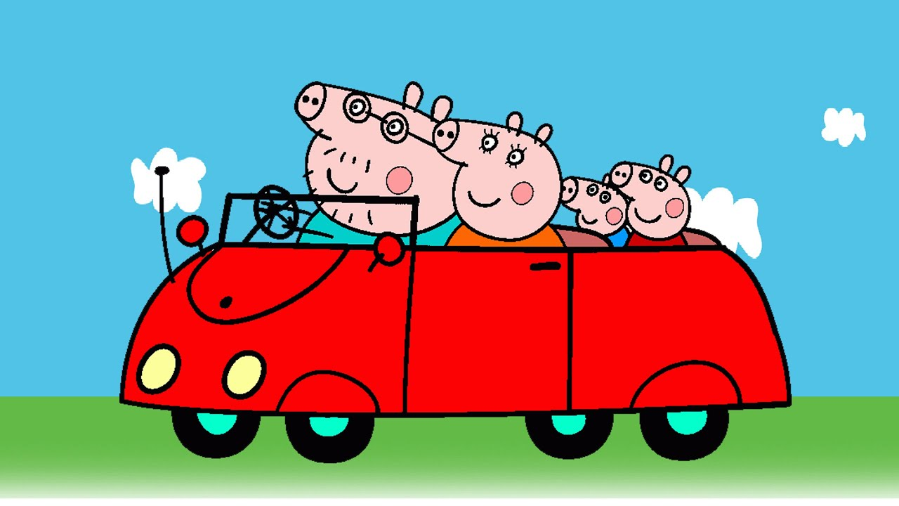 Peppa Pig Coloring Pages For Kids Peppa Pig Coloring Book -Peppa Pig ...
