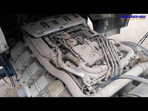 MAN D2868/680 V8 Engine View