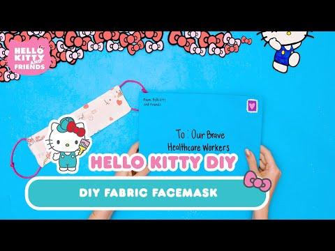 diy-face-masks-|-hello-kitty-diy