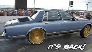 HAS NOT SAW A TRACK IN YEARS! KUT DA CHECK RACING PROCHARGED BOX CHEVY RETURNS