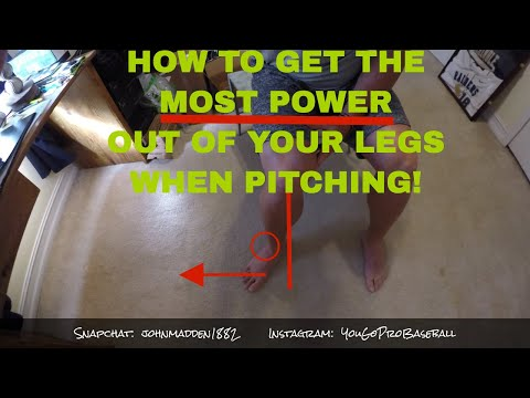 How to get the MOST POWER out of your BACK FOOT when PITCHING!  [Office Hours w Coach Madden Ep.117]