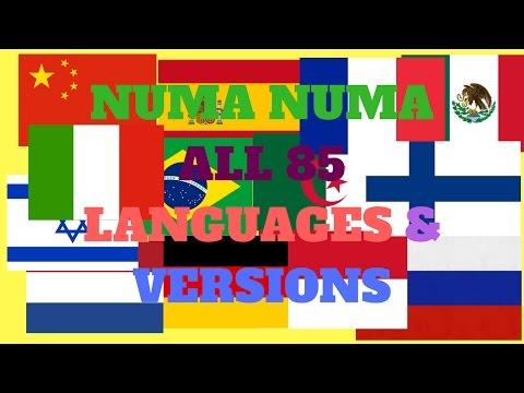 Numa Numa All 85 Languages & Versions!