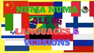Numa Numa All 85 Languages & Versions!