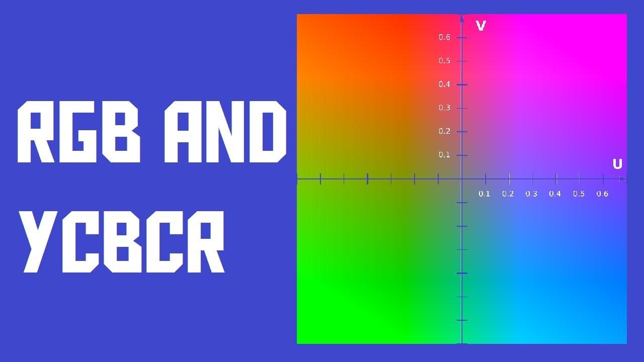 RGB vs YUV (YCbCr) color models (AKIO TV)