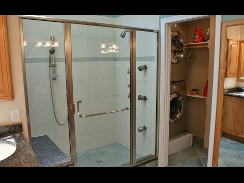 Small Bathroom Laundry Room Combo Interior And Layout Design Ideas - Bathroom laundry room design ideas