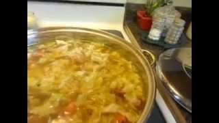 Kielbasa Cabbage Soup