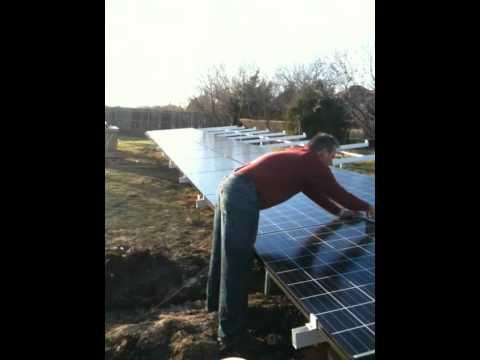 North Texas Solar Ground Mount