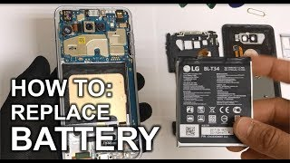 How to Replace the Battery on a LG V30