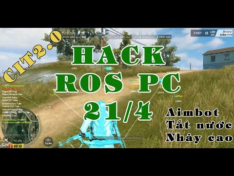[ROS PC] 2.0   Hướng dẫn Hack Wall, AimBot, Speed  Cách Hack Rules of survival on PC how to hack ROS