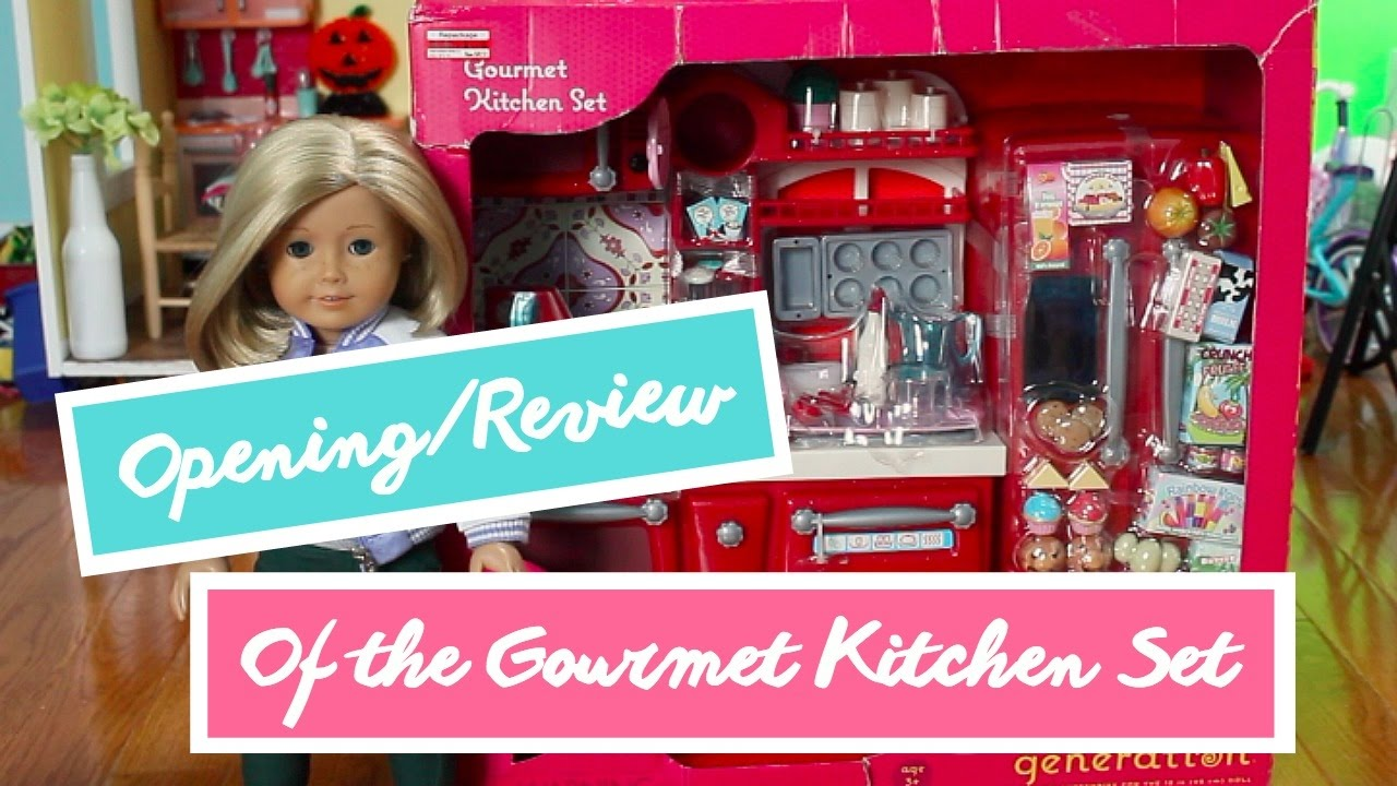 Opening/Review of the OG Gourmet Kitchen Set - YouTube