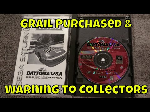 Sega Grail Purchased and Warning to Collectors