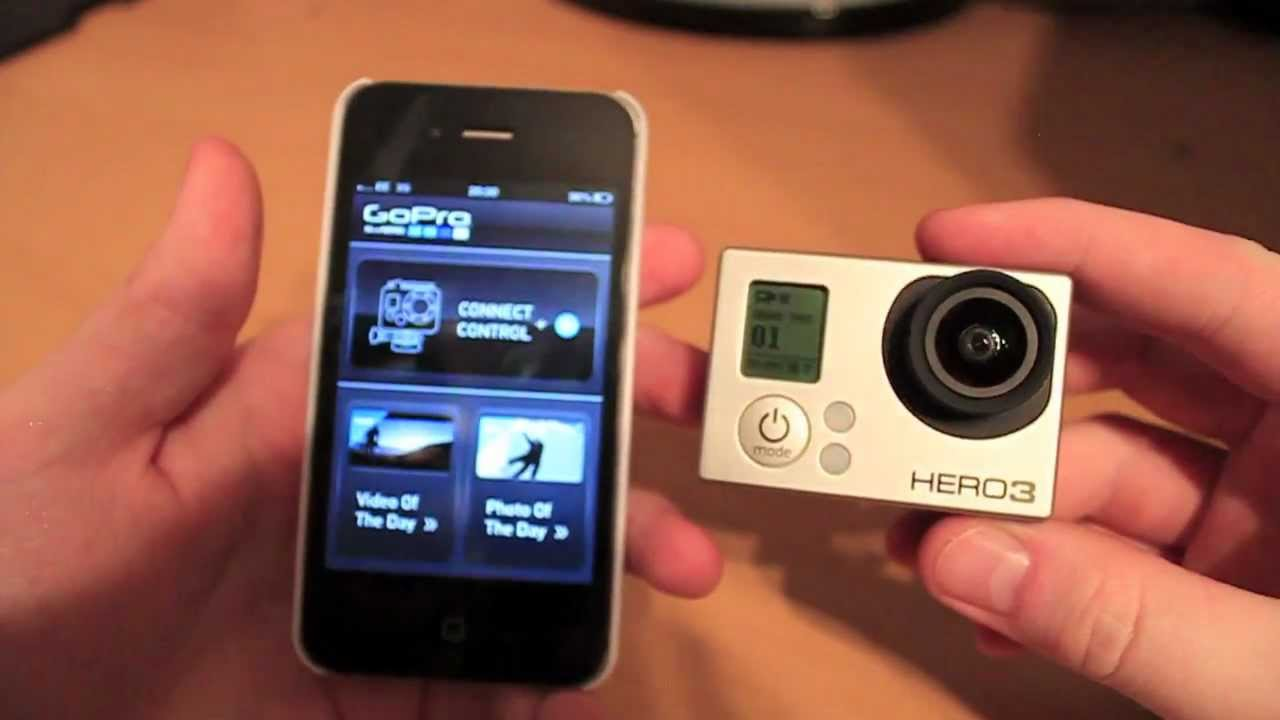 GoPro Hero 3 Wifi Connectivity With An IPhone