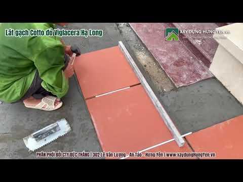 Chia Sẻ Về Sử Dụng - Lát Gạch Cotto Viglacera Hạ Long | Lát Gạch đỏ Lát Nền Viglacera Hạ Long