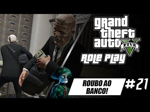 GTA V : VIDA REAL Lampião RP VIDA DE CANGACEIRO #21 roubo a Banco