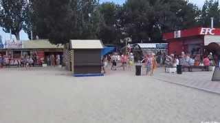 Ейск, Центральный пляж, июль(Центральный городской пляж находится на берегу Таганрогского залива, с правой стороны. Протяженность окол..., 2014-07-18T21:21:54.000Z)