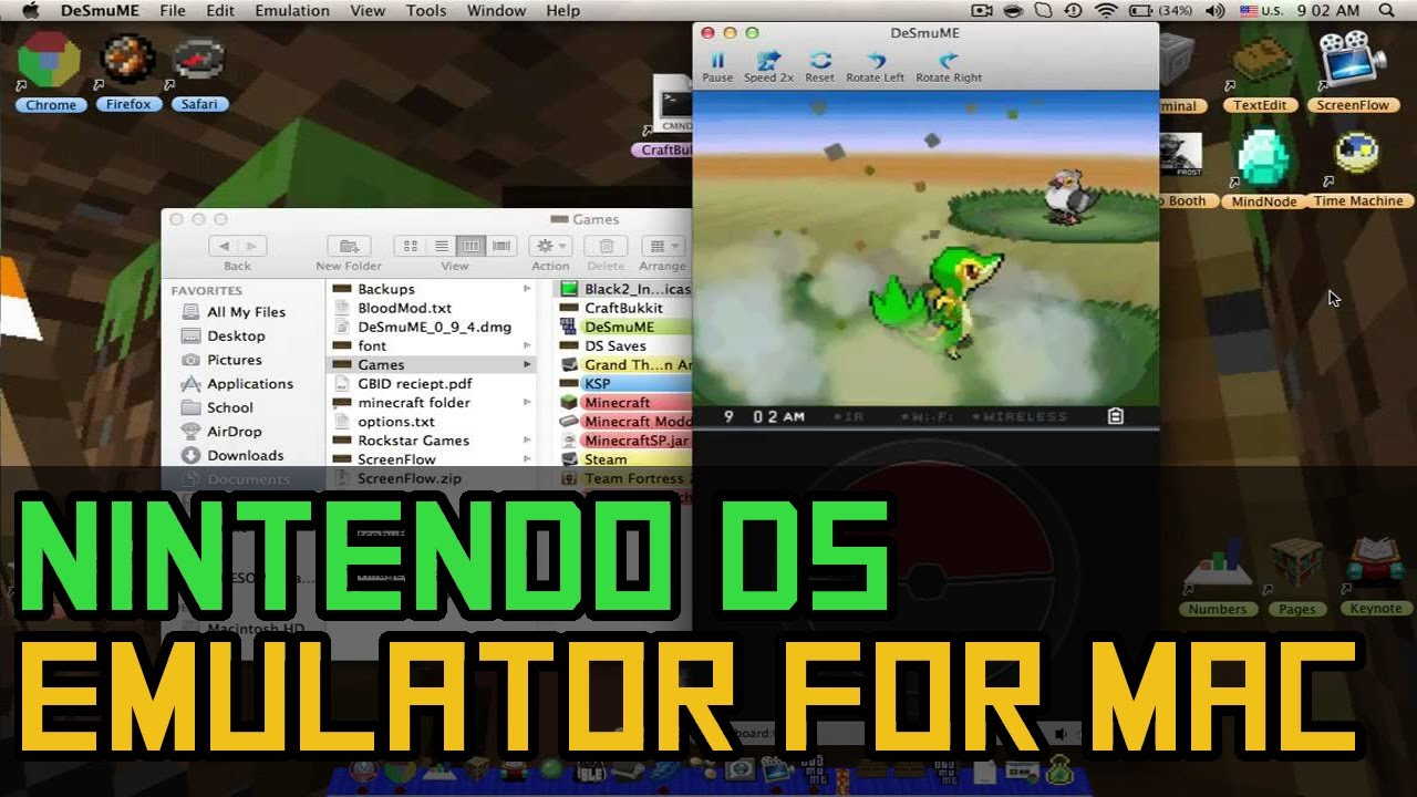 Nintendo ds emulator mac