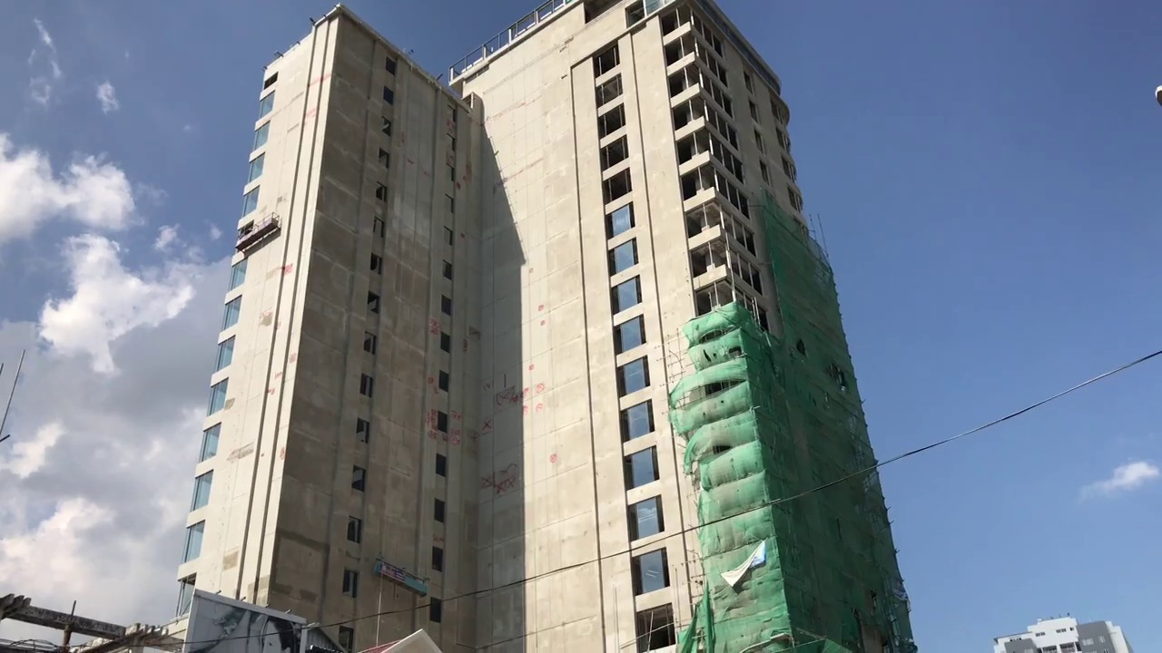 New Marriott officially under construction, following
