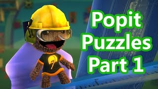 LittleBigPlanet 3 - Popit Puzzles 100% Walkthrough  Part 1 - Popit Cursor - LBP3 PS4