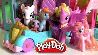 Play Doh Princess Celebration Cars My Little Pony Friendship is Magic Dolls by Disney Collector Toys
