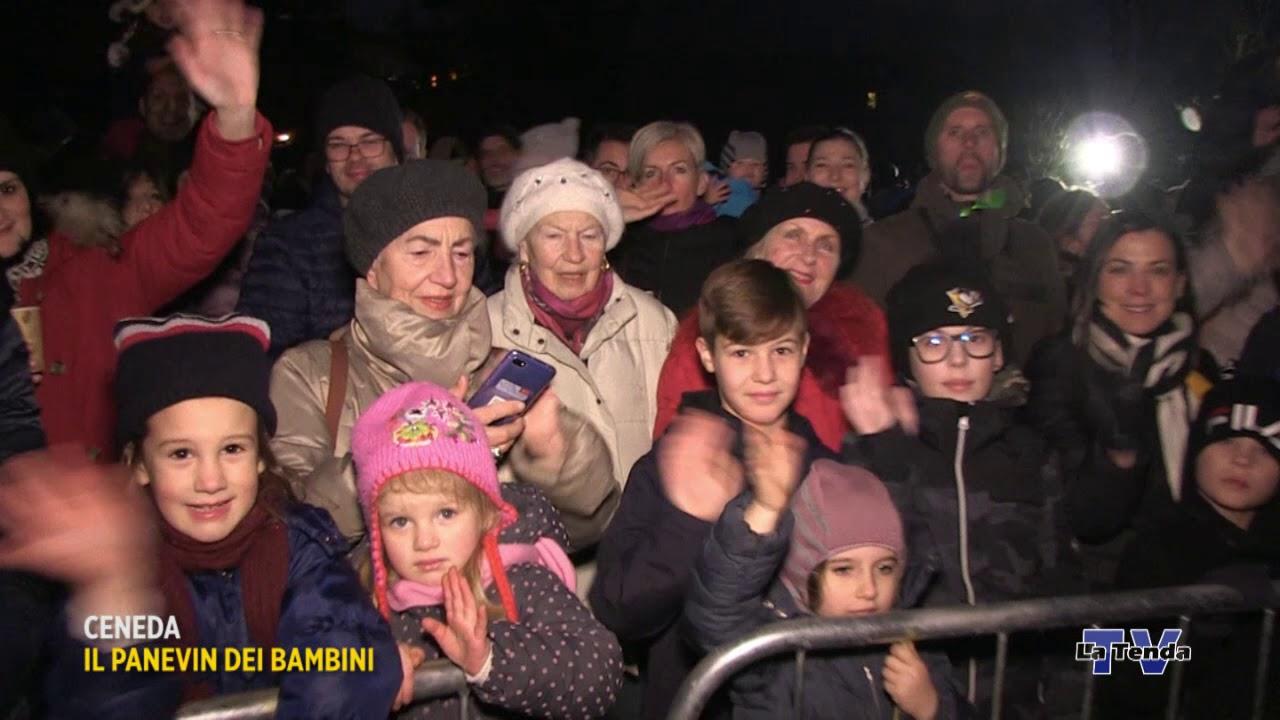 Il Panevin dei bambini a Ceneda