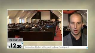 Jacqueline Galant et Laurent Ledoux s'expliquent en commission