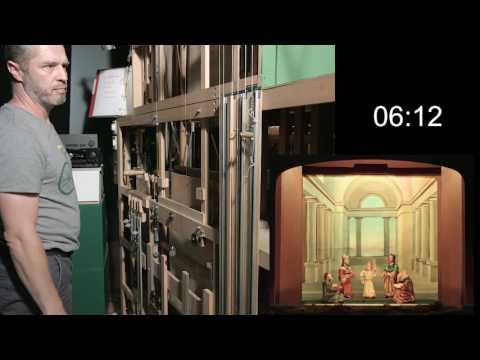 Die Luzerner Bühnenkrippe - Backstage