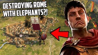 Breaking Total War Rome 2 By Destroying Rome As Carthage?!
