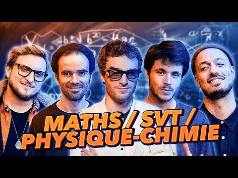 ON REPASSE LE BAC : MATIÈRES SCIENTIFIQUES Feat. Dr NOZMAN, DIRTYBIOLOGY, MIC MATHS