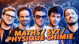 ON REPASSE LE BAC : MATIÈRES SCIENTIFIQUES feat. Dr NOZMAN, DIRTYBIOLOGY, MIC MATHS