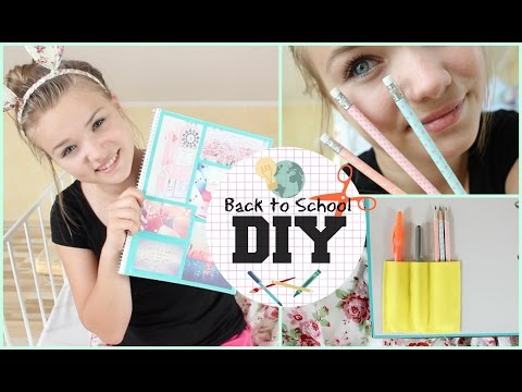 DIY Supplies Ideen | Back to School #3