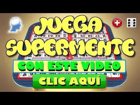 ¿ERES INTELIGENTE? JUEGA SUPERMENTE Nivel 1 - SUMA CON 1 DADO - www.supermente.net