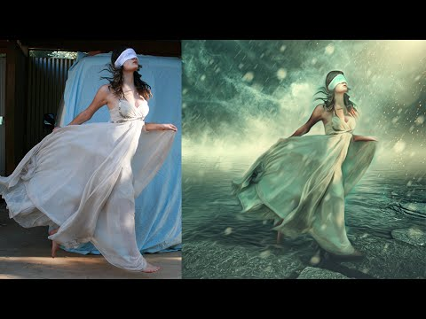 Photoshop Manipulation Tutorials Photo Effects | Dream Girl