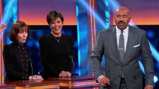 Kris Jenner's Mom, MJ, Steals Win - Celebrity Family Feud