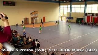 U15 girls. FINAL K02. Lajkonik cup 2017. SSK SLS Presov (SVK) - RCOR Minsk (BLR) - 12:14 (2nd half)