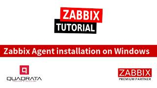 Zabbix Tutorial - Installation of MS Windows Zabbix Agent 3.2 ENG - #03