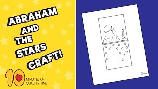 Abraham and the Stars - Bible Craft for Kids