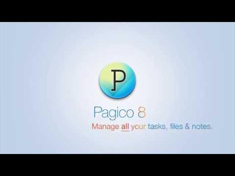 Pagico 8 task manager