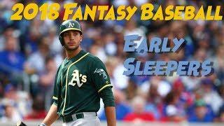2018 Fantasy Baseball Early Sleepers