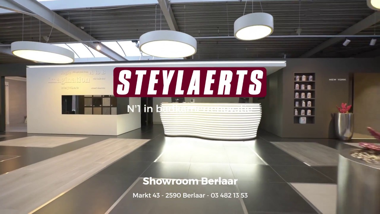 Steylaerts showroom Berlaar - YouTube