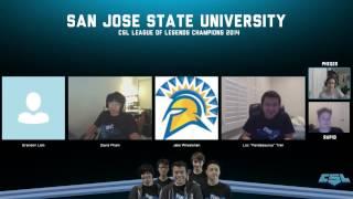San Jose State University CSL 2014 Winners Interview