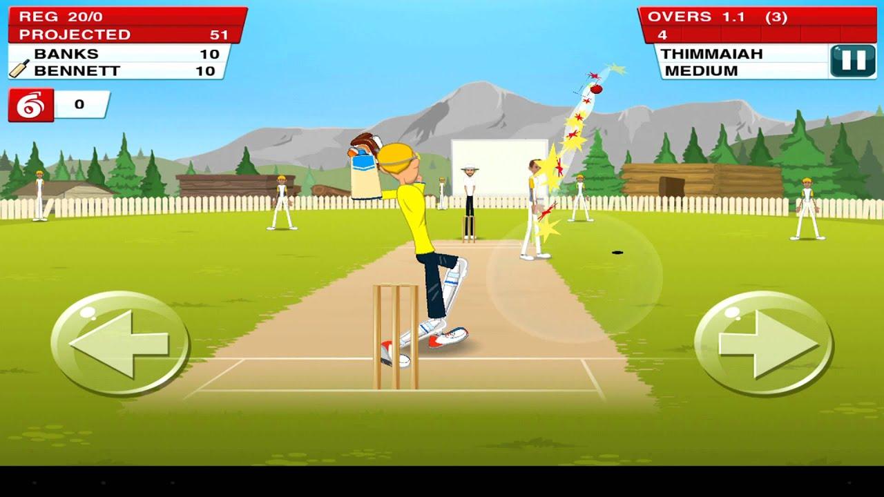 Stick Cricket apk android, pc et ios