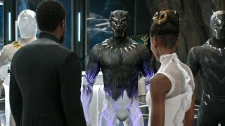Black Panther Tamil | Black Panther New Suit Tamil | Black Panther (2018)