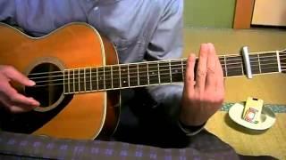 素人のギター弾き語り 天使のささやき スリー・ディグリーズ 日本語詞・...