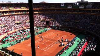 Semifinal COPA DAVIS 2011:España-Francia Buen punto de Fernando Verdasco