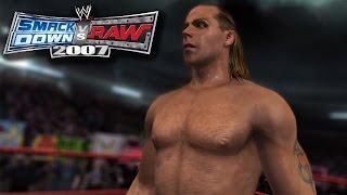 "WWE Smackdown Vs. Raw 2007 Season Mode Part 1 - ""Introduction Ft. HBK"""