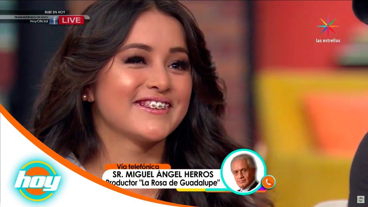 Rub 237 Invitada Grabar Su Historia En La Rosa De Guadalupe
