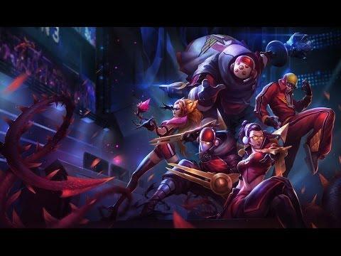 All SKT T1 Skins - League of Legends - Zed Zyra Lee Sin Jax Vayne Gameplay